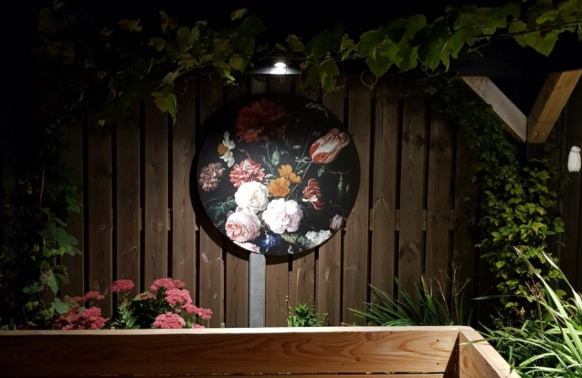 muurdecoratie tuin