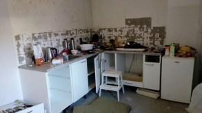 keuken verbouwen - tijdens