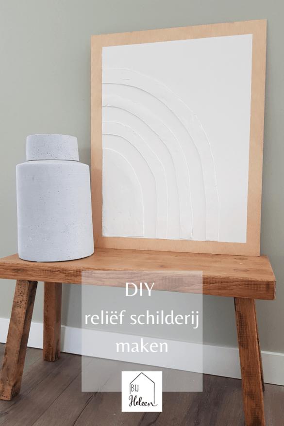 DIY relief schilderij maken
