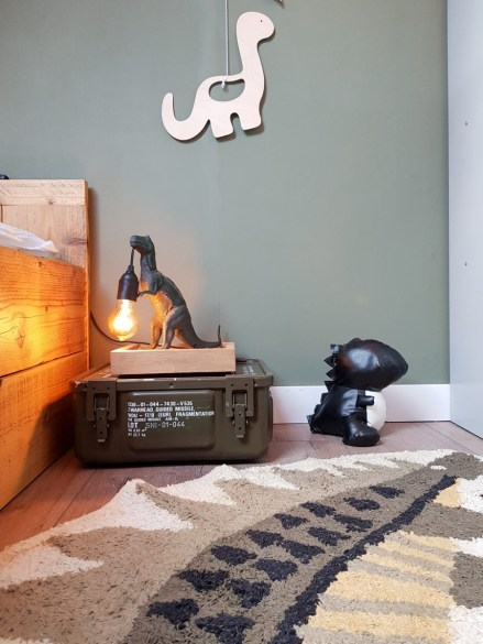 lamp maken dino kamer