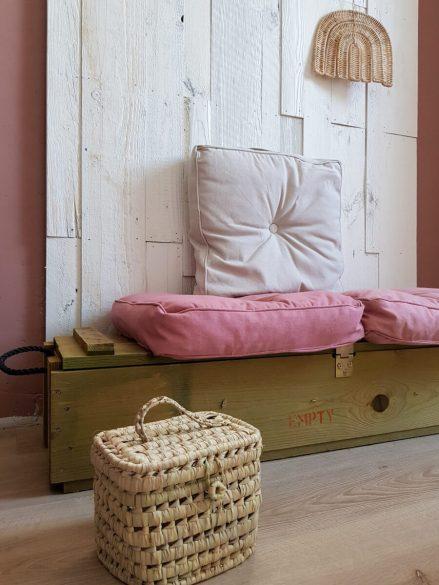 Roze interieur combineren