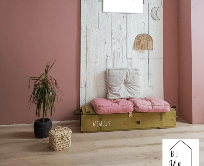 Roze in je interieur combineren