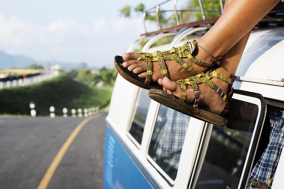 voetjes en campervan