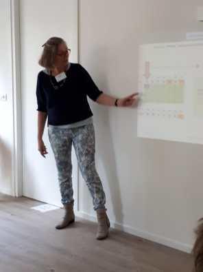 Uitleg van Kiki over het digitaal rooster