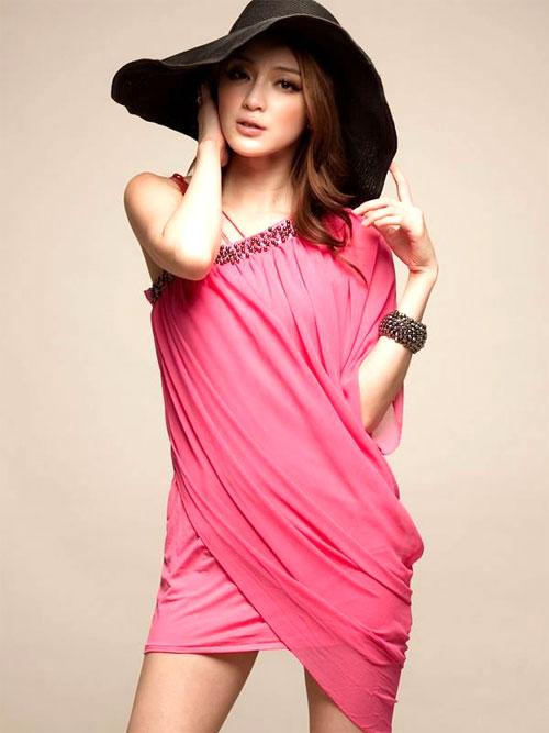 Abitino rosa per San Valentino 2012
