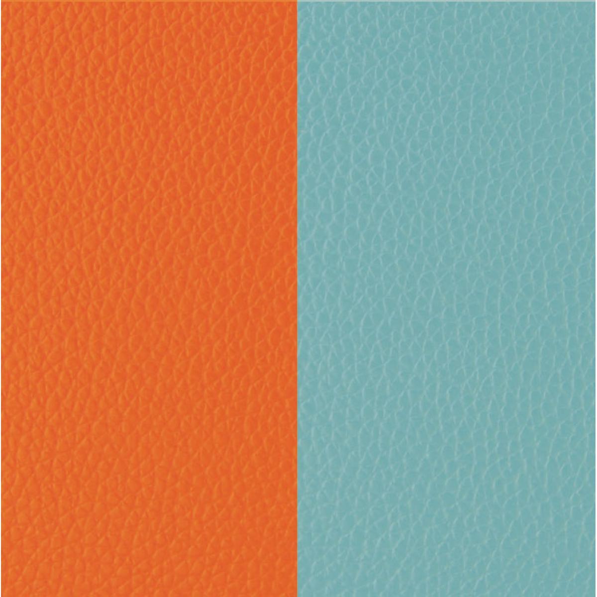 cuir pour bracelet les georgettes cuir orange lilium bleu nimbus cuir pour bracelet reversible interchangeable femme