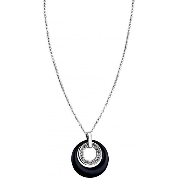 Collier et pendentif Lotus Style CERAMIC LS1704-1-1