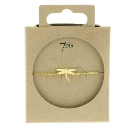 370769DOR Bracelet Libellule Doré Design Délicat
