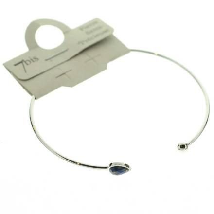 371674BLEARG Bracelet Jonc Doré Ble Ajustable Goutte Et Boule