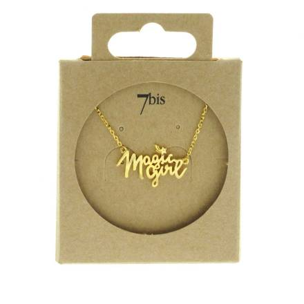 170459DOR Collier Magic Girl Doré Collaboration Natachabirds