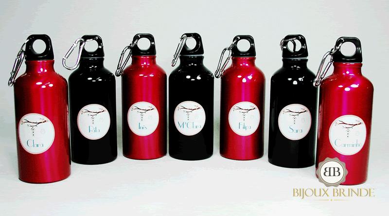 Presentes de natal: Garrafas de água 400ml.