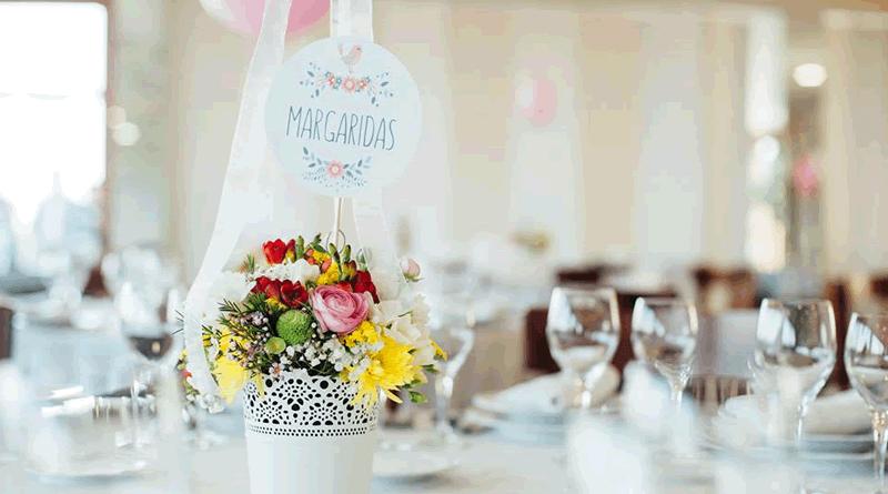 Passarinhos e flores: Batizado da Maria Miguel