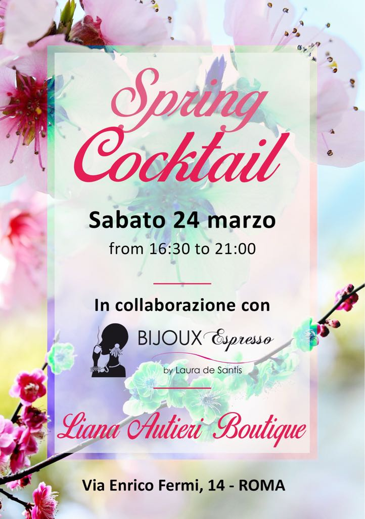 24 Marzo Liana Autieri Spring Cocktail Party