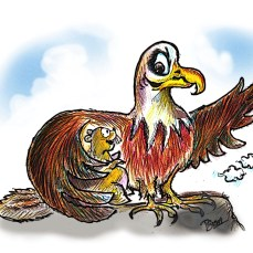 Assisted suicide wasn't really this eagle's thing