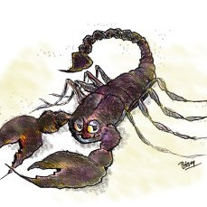 The scorpion who feared his tail