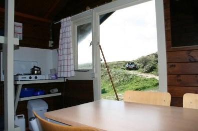 Bijzondere Overnachting Origineel Overnachten Slapen in een trekkershut op Texel4