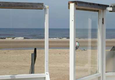 Bijzondere Overnachting Origineel Overnachten Slapen op het strand Castricum aan Zee3