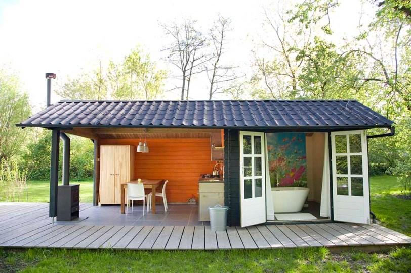 Bijzondere Overnachting Slapen in een Yurt met bad in Drenthe bij Emmen5