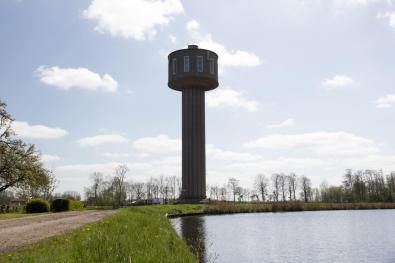 Bijzondere Overnachting Origineel Overnachten Slapen in de Watertoren van Nes Friesland1