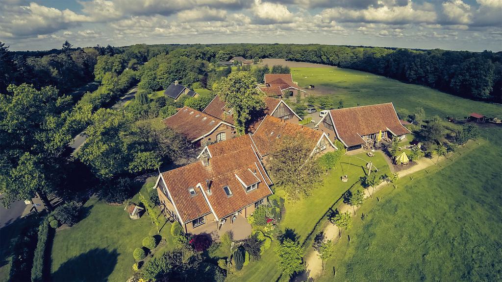 Slapen in luxe boerenlodge Erve Bruggert in Haaksbergen