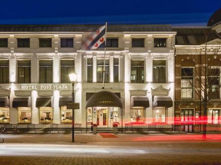 Slapen in een voormalig postkantoor – Hotel Post Plaza in Leeuwarden