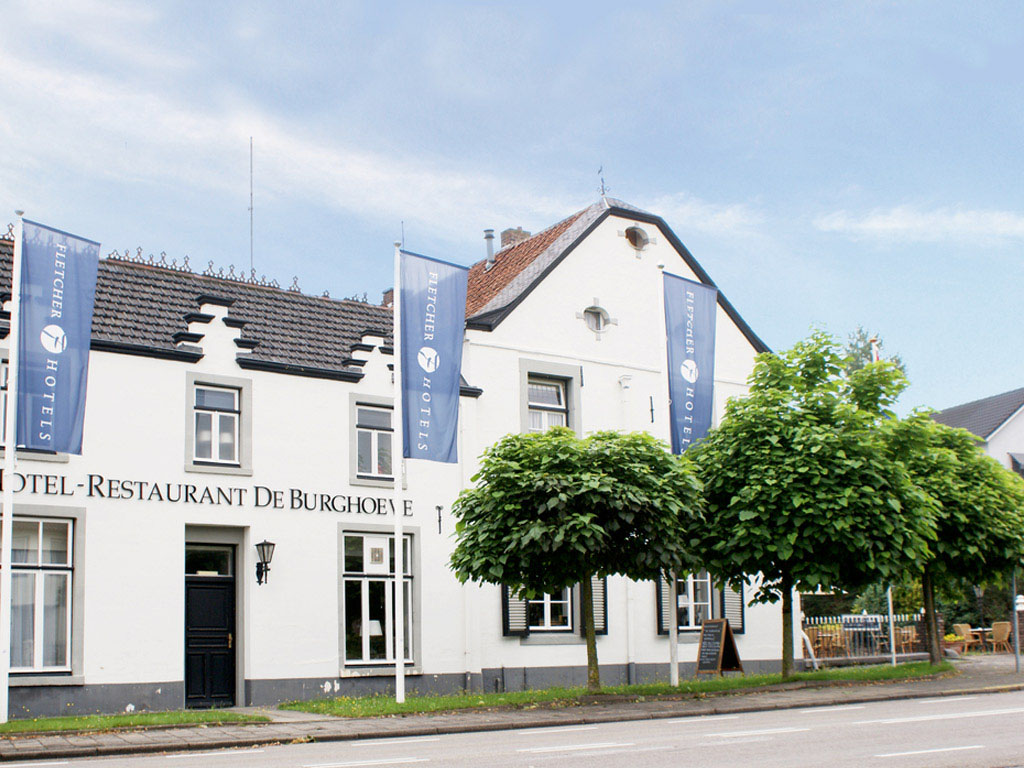 Slapen in Fletcher Hotel de Burghoeve in Valkenburg