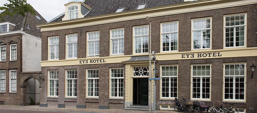 Slapen in Scandinavisch designhotel Eye Hotel Utrecht