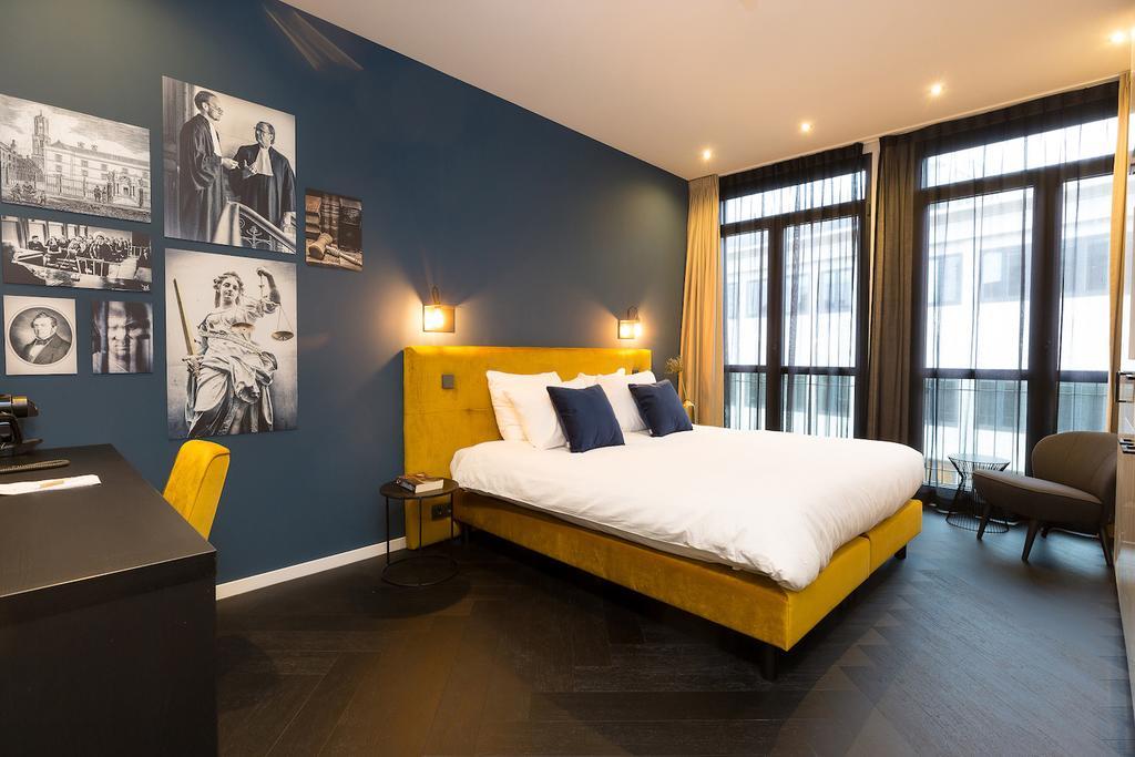 Bijzondere Overnachting Origineel Overnachten Slapen in designhotel in de oude rechtbank van Utrecht1