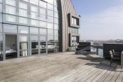 Bijzondere Overnachting Origineel Overnachten Luxe penthouse direct aan het strand van Bloemendaal aan Zee17