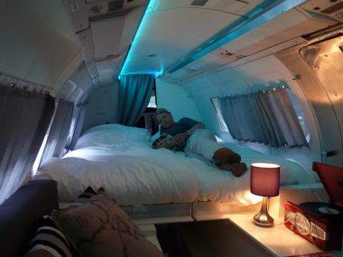 Bijzondere Overnachting Origineel Overnachten Slapen in een vliegtuig Vreemde Vogel Vlaardingen10