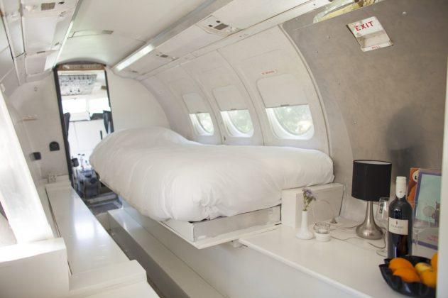 Bijzondere Overnachting Origineel Overnachten Slapen in een vliegtuig Vreemde Vogel Vlaardingen3
