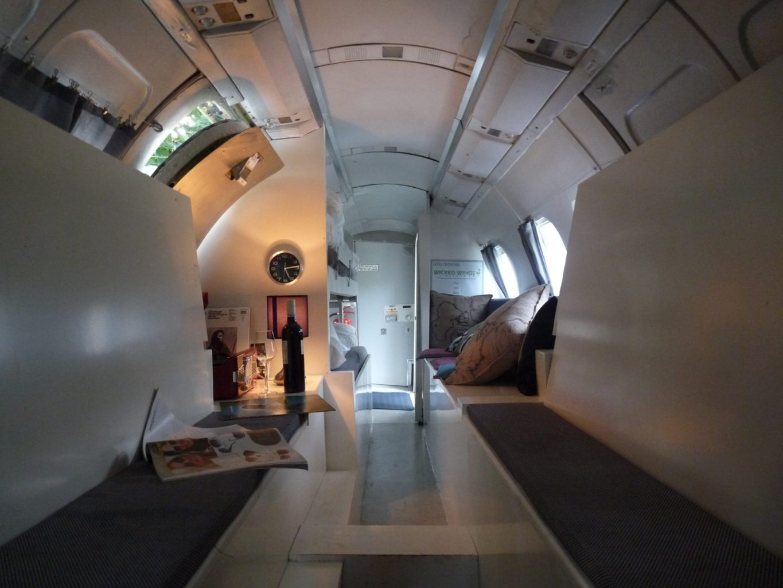 Bijzondere Overnachting Origineel Overnachten Slapen in een vliegtuig Vreemde Vogel Vlaardingen9