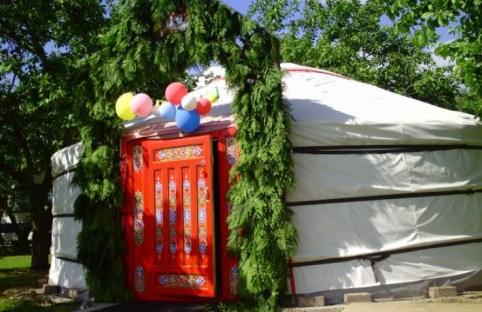 Bijzondere Overnachting Origineel Overnachten Slapen in een Mongoolse Yurt of Ger langs de Rijn10
