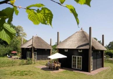 Bijzondere Overnachting Origineel Overnachten Slapen in een hooiberg op een luxe vakantiepark Molke Zuna13