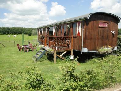 Bijzondere Overnachting Origineel Overnachten Slapen in een pipowagen bij Erve Dikkeboer in Bathmen6