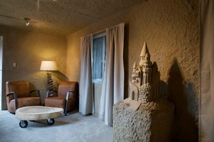 Bijzondere Overnachting Origineel Overnachten Slapen in een zandhotel Sneek Friesland6