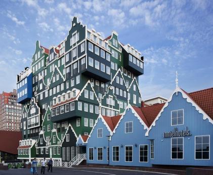Slapen in de Zaanse huisjes in Zaandam