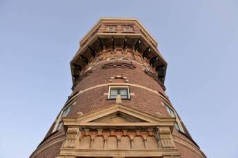 Slapen in de voormalig watertoren van Vlissingen