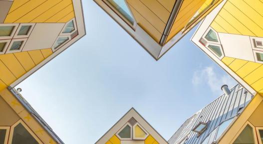 Bijzondere overnachting Origineel Overnachten Slapen in een kubuswoning in Rotterdam 15