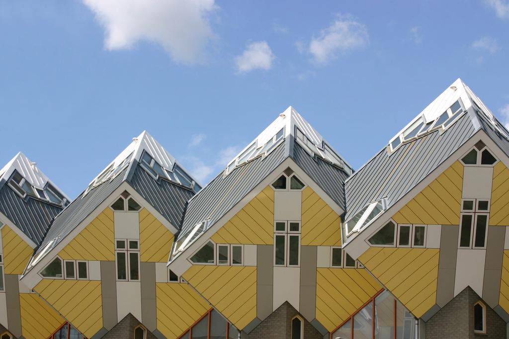 Slapen in een kubuswoning in Rotterdam