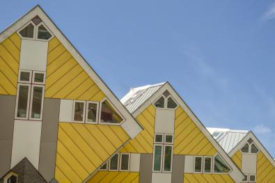 Bijzondere overnachting Origineel Overnachten Slapen in een kubuswoning in Rotterdam 7