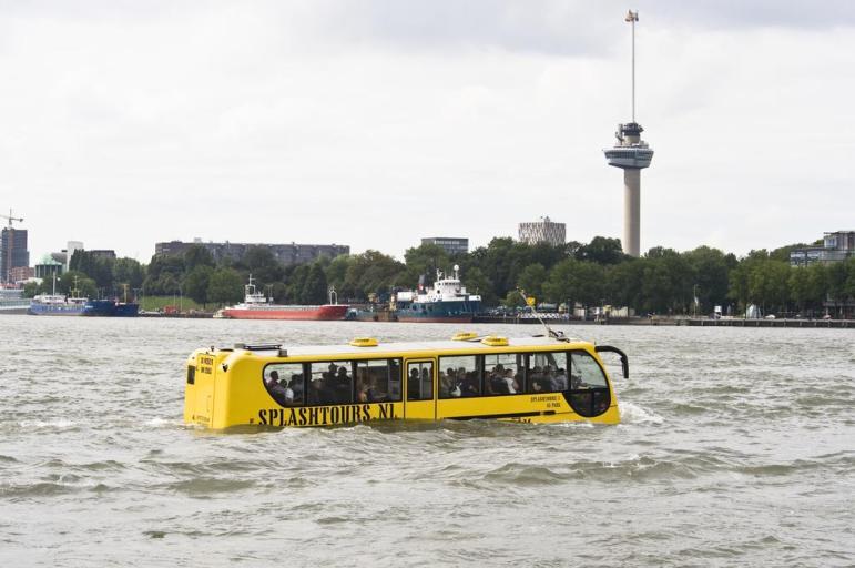 Bijzondere overnachting Romantisch overnachten in de Euromast te Rotterdam 4