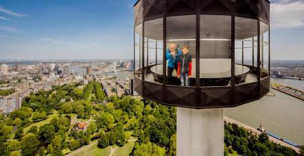 Bijzondere overnachting Romantisch overnachten in de Euromast te Rotterdam 9