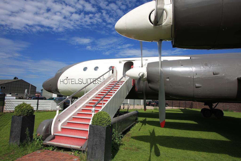 Slapen in een vliegtuigsuite op vliegveld Teuge