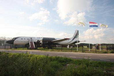 Bijzondere Overnachting Origineel Overnachten Slapen in een vliegtuigsuite op vliegveld Teuge3