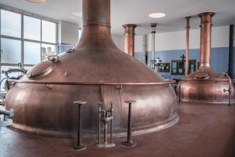 Slapen in Belgische bierbrouwerij Het Anker in Mechelen