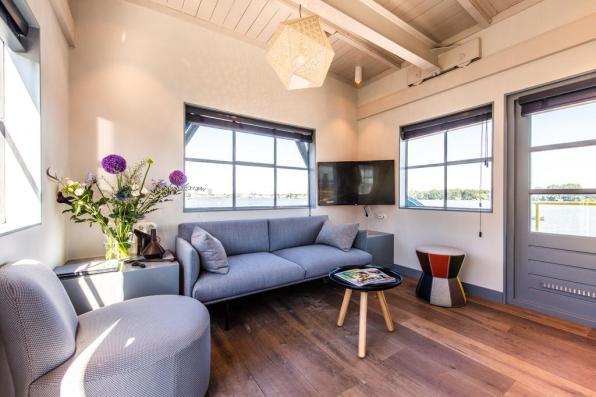 Bijzondere Overnachting Origineel Overnachten Slapen in het Yays Crane appartement in Amsterdam 5