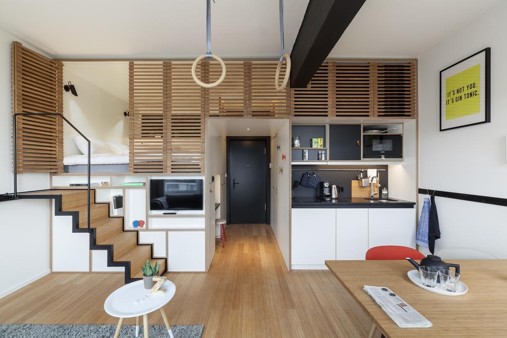 Slapen in Zoku Apartments Amsterdam