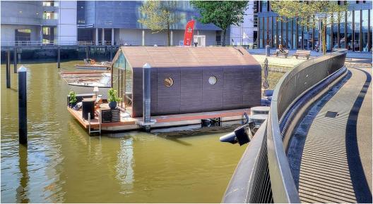 Bijzondere overnachting Origineel Overnachten Slapen op het water in Rotterdam Wikkelboat 13