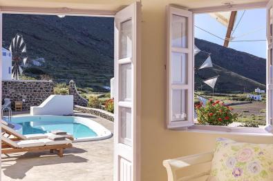 Vakantie windmolen villa Santorini Griekenland 14